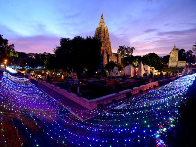 Bodh Gaya's Mahabodhi Temple to Receive New Hi-tech Illumination System
