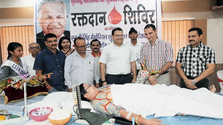 Jharkhand blood donors oppose card fiat