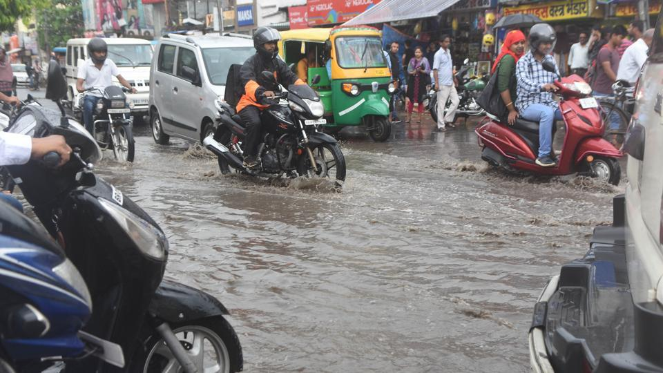 First spell of rain exposes Patna's drainage system