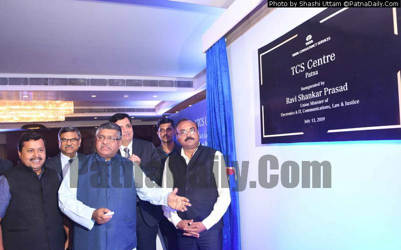 IT Minister Inaugurates Tata Consultancy Office in Patna