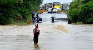 Moderate to heavy rainfall in past 24 hours in Bihar