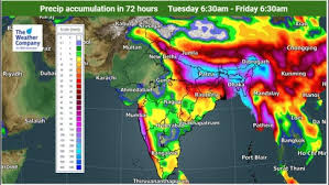 Monsoon Intensifies in North; Extremely Heavy Rainfall in UP, Bihar and Uttarakhand