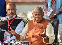 Manjhi in touch with NDA partner for Jharkhand polls