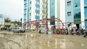 Mucky road test for Ranchi patients
