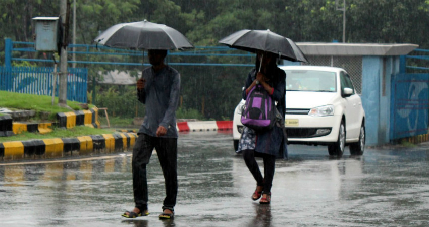 HEAVY RAINS IN BAG FOR RANCHI, HAZARIBAGH, JAMUI FOR THE NEXT TWO TO THREE DAYS
