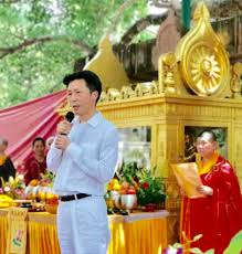 Consul General Zha Liyou Attends Bodh Gaya Celebration Prayers for 70th Anniversary of Founding of The People's Republic of China