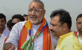 'He is a Babu…': Giriraj Singh Castigates Official in Bihar for Sitting in Car While Talking to Him