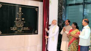 PM Modi inaugurates Jharkhand assembly building, lays foundation of state secretariat