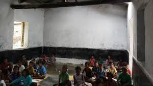 Tale of a Bihar school: Gunny bags for benches, open sky as roof for 250 kids