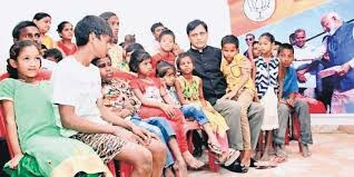 Patna diary: Union Minister Nityanand Rai adopts 42 differently-abled children