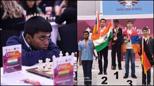'Happy and proud': R Praggnanandhaa's sister Vaishali says he deserved to win gold in Chess Championship