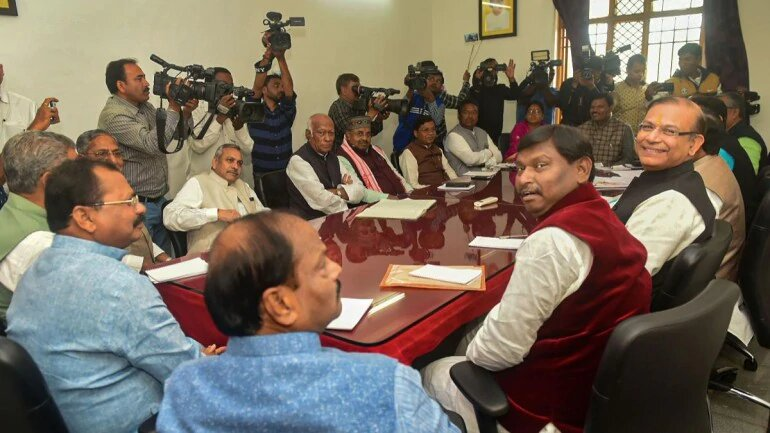 BJP's ally problem in poll-bound Jharkhand.