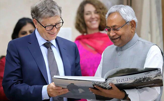 What Bill Gates Said About Bihar's Efforts To Fight Poverty, Diseases.