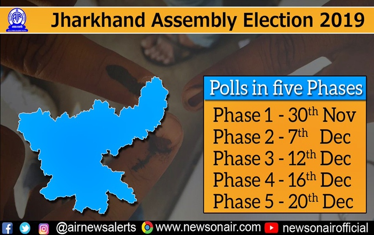 Campaigning for 2nd phase of Jharkhand assembly elections ends today.