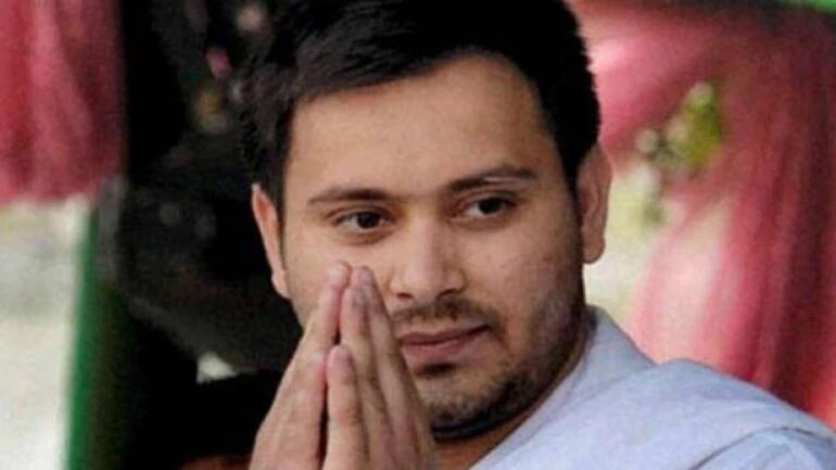 Fought Jharkhand Assembly election based on people's issues, happy they voted: Tejashwi Yadav.