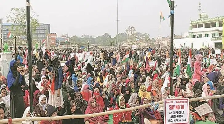 Anti-CAA-NRC stir: From PhD scholar to homemaker, women lead big protest in Ranchi.