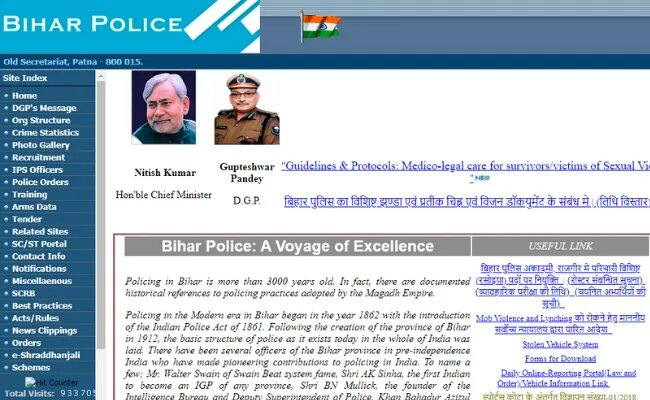 Bihar Police SI 2020 Application Process closing Today on bpssc.bih.nic.in