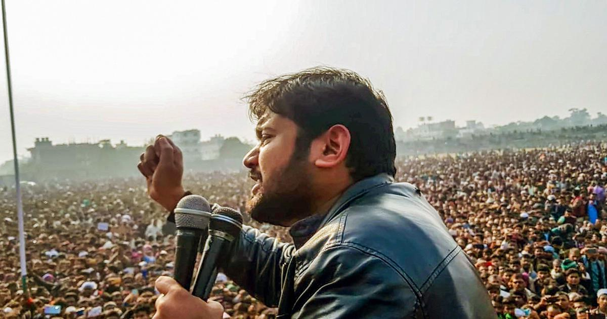 Citizenship Act: Kanhaiya Kumar detained with several others in Bihar ahead of protest rally.
