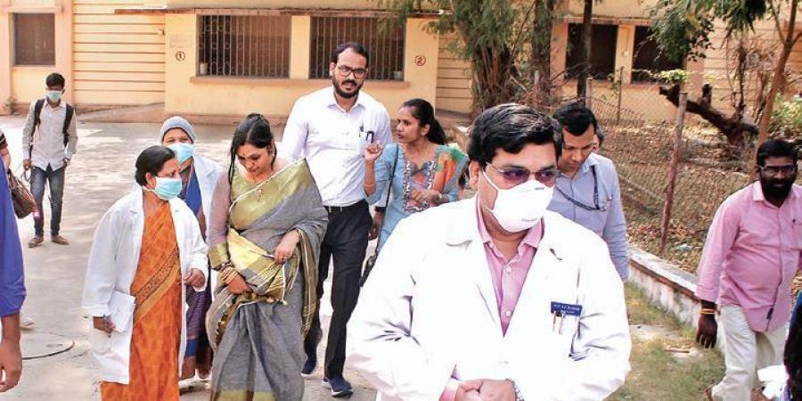 Coronavirus outbreak: Medical camps in .