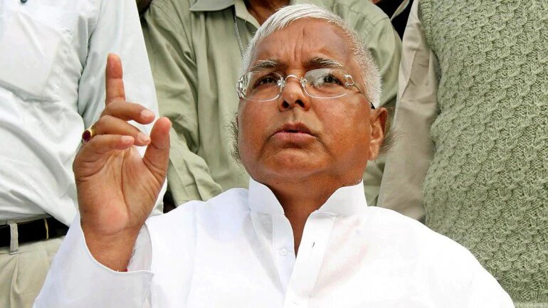Hatao Nitish in 2020: Jailed Lalu Yadav coins slogan for RJD as Bihar enters election year.