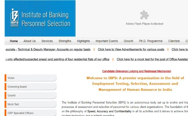 IBPS Exam Calendar 2020-21 Released at ibps.in, Steps to download here IBPS PO, Clerk and SO Exam Date.