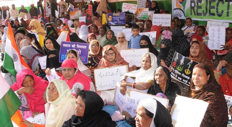 Inspired by Shaheen Bagh protests, women in Ranchi begin anti-CAA stir.