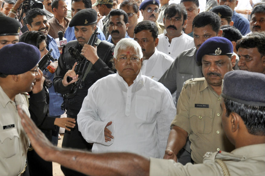 Jharkhand Cops Inspect 'Jailed' Lalu Prasad's Hosp Ward After Video Raises Eyebrows; RJD Says 'Following Rule Strictly'.