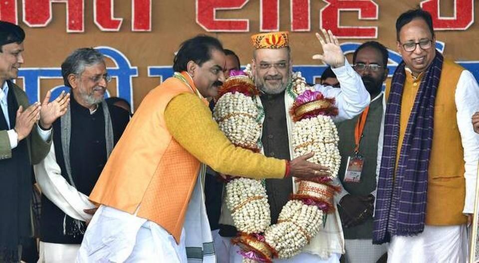 Nitish Kumar will lead NDA in Bihar elections, says Amit Shah.