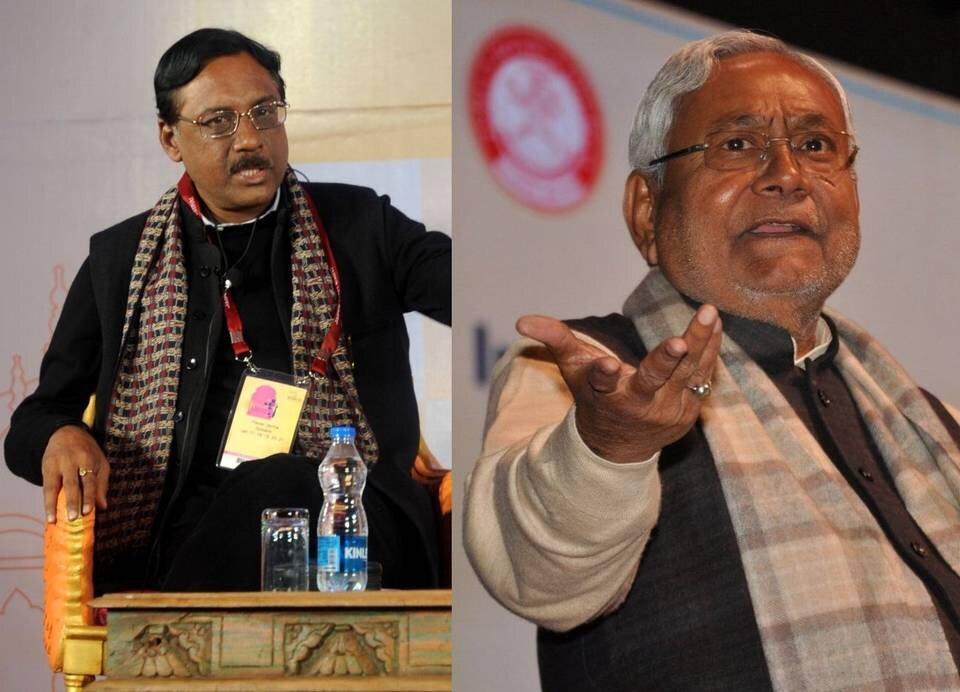 Pawan Varma can go to any party he wants, says Nitish.