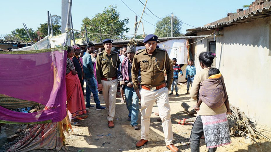 Woman's body found in Ranchi with clothes torn.