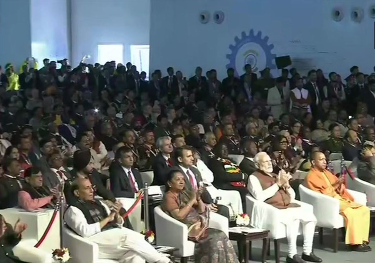 Invoking Atal Bihari Vajpayee's 'Indigenous' Dream, PM Modi Says UP Will Become One of the Biggest Hubs of Defence Manufacturing